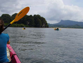 Kayaking in Khao Deang
