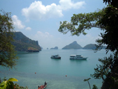 Kayaking Tour at Angthong Marine Park (Tour Boat)