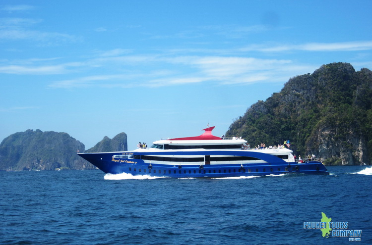 Phi Phi Tour by  Royal Jet Cruise