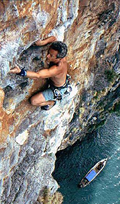 Rock climbing by King Climber