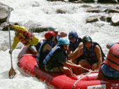White Water Rafting at Phang Nga