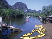 Sea Kayaking to Ao Thalane and Koh Hong