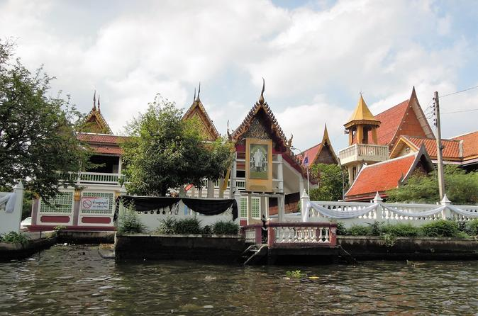 Bangkok Canal by Longtail Boat