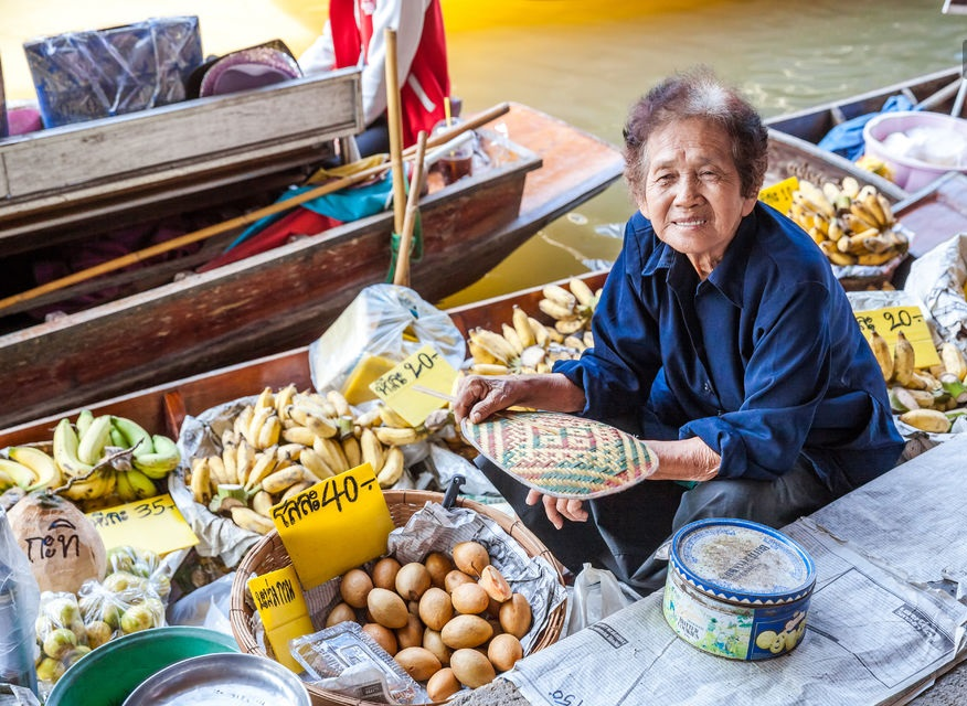 Floating Market  Half Day Tour