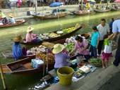Damnoen Saduak Floating Market & Rose Garden