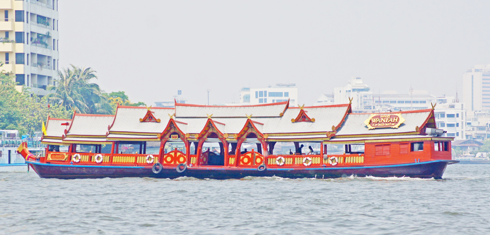 Rice Barge Cruise Wan Fah